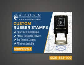 #61 for Custom Stamps AdWords Banners (10 Sizes) by rizoanulislam