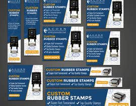 #63 for Custom Stamps AdWords Banners (10 Sizes) by rizoanulislam