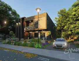 #5 cho Realistic exterior rendering of a modern house bởi smarkies
