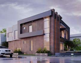 #112 for Realistic exterior rendering of a modern house by beehive3dworks