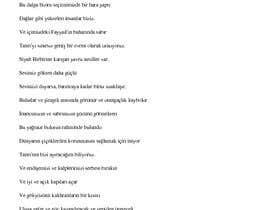 #1 for en güzel şiir by yelharoui