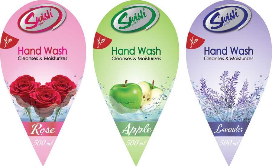 Kilpailutyö #29 kilpailussa Create Print and Packaging Designs - Liquid Hand Soap Label