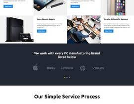 #23 for Design ideas for mobile phone repair site on PSD or any other format. by yeasir119