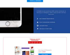 #24 for Design ideas for mobile phone repair site on PSD or any other format. by amgnim