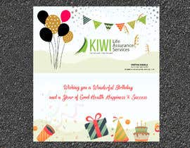 nº 10 pour BIRTHDAY GREETING CARD PROFESSIONAL par dasshilatuni
