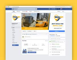 #21 for Facebook cover design for vehicle booking website af luqman47