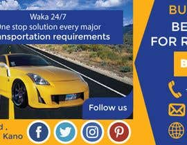 #41 for Facebook cover design for vehicle booking website af de201