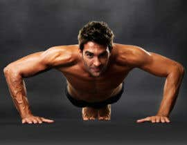 #67 for Find me a good image of someone doing push ups by designsbymallika