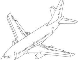 #19 for Line-Art Vectors of Airplanes (Multiple Winners) by stebo192