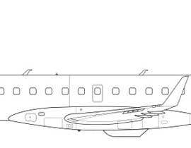 #90 for Line-Art Vectors of Airplanes (Multiple Winners) by Omarjmp