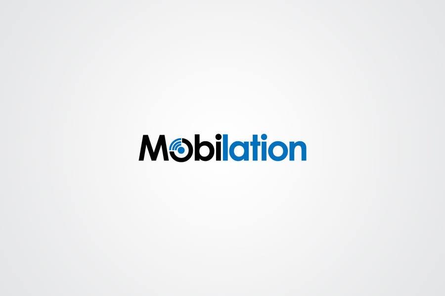 Penyertaan Peraduan #                                        3                                      untuk                                         Logo Design for Mobilation