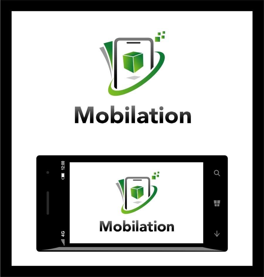 Penyertaan Peraduan #                                        48                                      untuk                                         Logo Design for Mobilation
