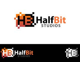 nº 117 pour Logo Design for HalfBit par benpics