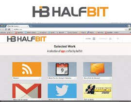 nº 177 pour Logo Design for HalfBit par winarto2012