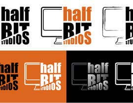 #171 para Logo Design for HalfBit por taganherbord