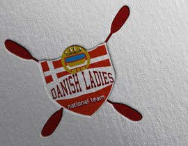 #41 for Build me a logo for the national danish ladies canoepolo team by midouu84