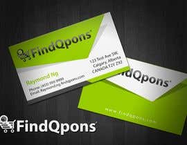 topcoder10 tarafından Business Card Design for FindQpons.com için no 81