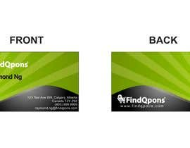 #15 para Business Card Design for FindQpons.com de grupozubirileon