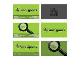 #25 dla Business Card Design for FindQpons.com przez crawlspeed
