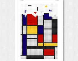 #19 for Design a poster - tetris by ekodamarulloh