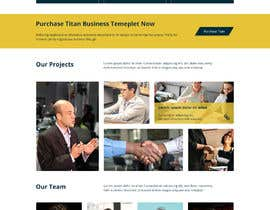 #21 for Photoshop design for a finance website by babupipul001