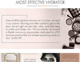 nº 48 pour Homepage Redesign for Luxury Skincare Brand par aindrila1985