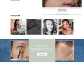 nº 45 pour Homepage Redesign for Luxury Skincare Brand par veletechnosoft