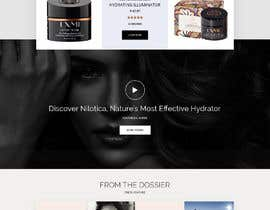 nº 29 pour Homepage Redesign for Luxury Skincare Brand par shazy9design
