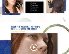 nº 46 pour Homepage Redesign for Luxury Skincare Brand par Webicules
