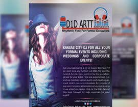 #8 for Advertisement  brochure for D1D Artt Entertainment by azgraphics939