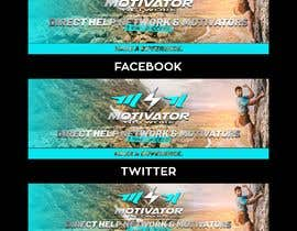 #43 for Design a Banner - Motivator Network by jamiu4luv
