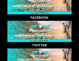 #44 for Design a Banner - Motivator Network by jamiu4luv