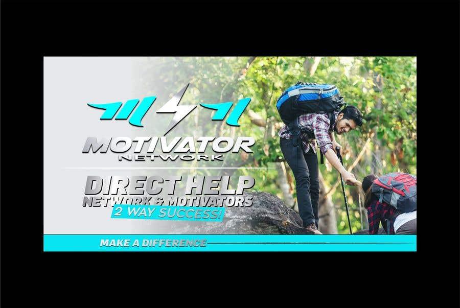 Kilpailutyö #46 kilpailussa Design a Banner - Motivator Network
