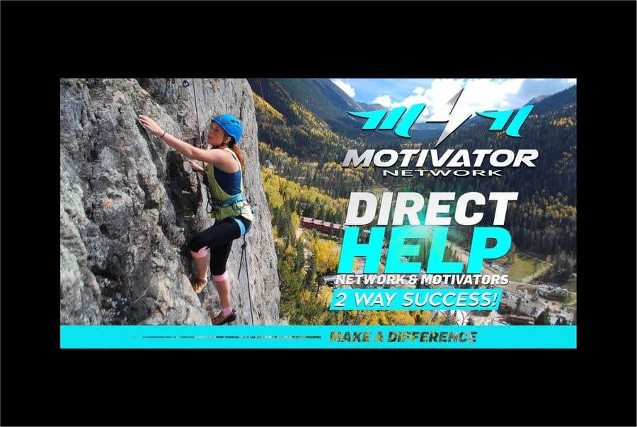 Kilpailutyö #58 kilpailussa Design a Banner - Motivator Network