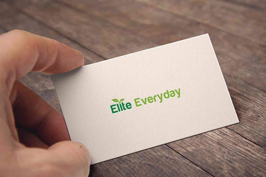 Penyertaan Peraduan #198 untuk Logo for Elite Everyday