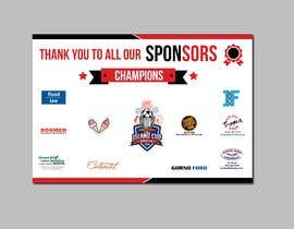 #25 for URGENT Design a Banner with ALL SPONSOR LOGOS -- 2 af nayangazi987