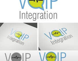 #158 para Logo Design for VoIP Integration por delwork