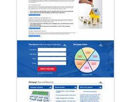 pris tarafından Design a Website Mockup for Mortgage Broker: High End Design Required.  Home Page & Inner Page Design için no 54
