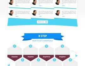 noninoey tarafından Design a Website Mockup for Mortgage Broker: High End Design Required.  Home Page & Inner Page Design için no 24