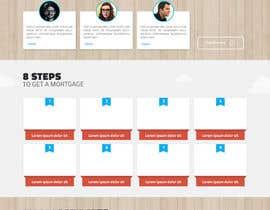 noninoey tarafından Design a Website Mockup for Mortgage Broker: High End Design Required.  Home Page & Inner Page Design için no 37