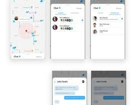 #13 for App design - Chat & Geolocation  Contest by darkevangel