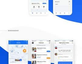 #22 for App design - Chat & Geolocation  Contest by DTSoftVN