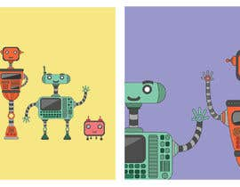 #22 for Simple graphics of robots, computers, drones, and kids by ryerive