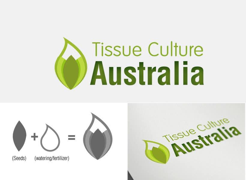 Kilpailutyö #                                        172                                      kilpailussa                                         Logo Design for Tissue Culture Australia