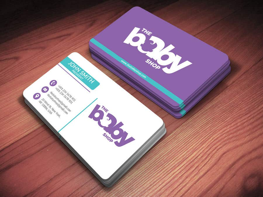 Entry #83 by rssumon1648 for baby shop business cards | Freelancer
