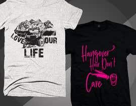 Nro 131 kilpailuun T-shirt designs needed for new business käyttäjältä Rezaulkarimh