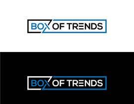 "#204 untuk Logo for ecom store ""Box of trends"" oleh suvo6664"