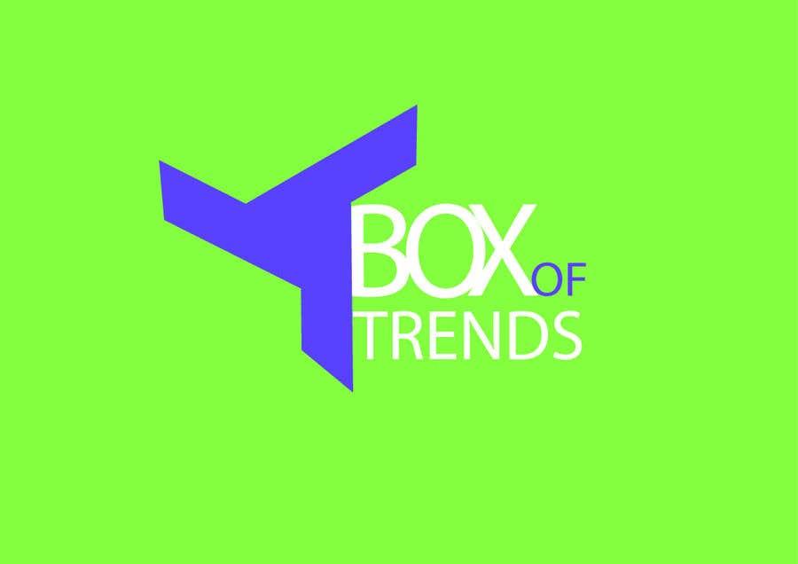 """Penyertaan Peraduan #219 untuk Logo for ecom store """"Box of trends"""""""