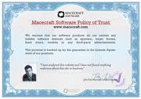 Photography Contest Entry #19 for Website Certificate Design for Macecraft Software