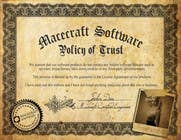 Graphic Design Contest Entry #2 for Website Certificate Design for Macecraft Software